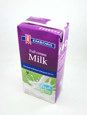 MANILA, PH - OCT 27 - Emborg full cream milk on October 27, 2020 in Manila, Philippines. Editorial
