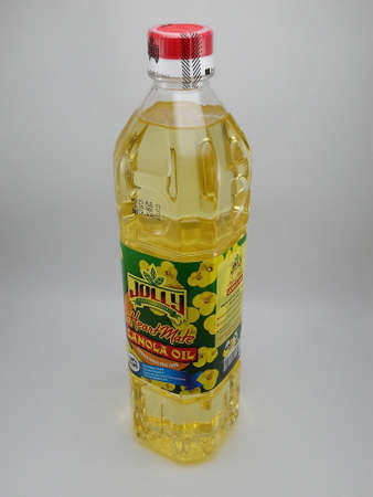 MANILA, PH - NOV 25 - Jolly heart mate canola oil on November 25, 2020 in Manila, Philippines.