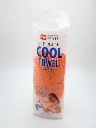 MANILA, PH - NOV 25 - Natural spirit ice mate cool towel on November 25, 2020 in Manila, Philippines.