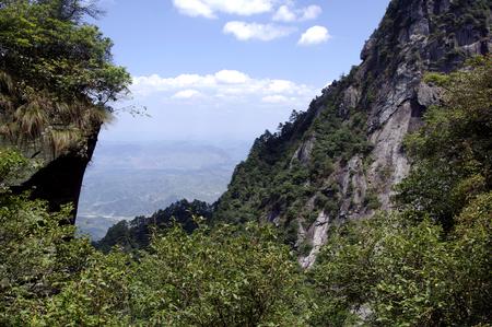 hubei province: View of Jiugong Mountain,Hubei province,China Stock Photo