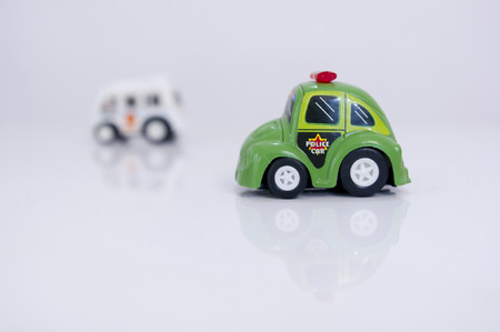 two toy cars photo