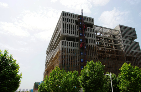 unfinished building: a unfinished building