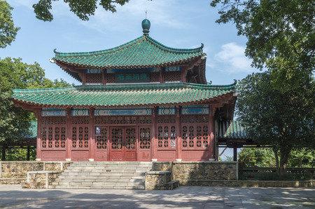 wuhan: Chinese ancient buildings, Wuhan Editorial