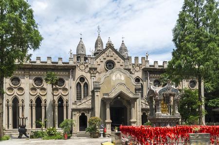 wuhan: Wuhan Goodall Temple scenery Stock Photo