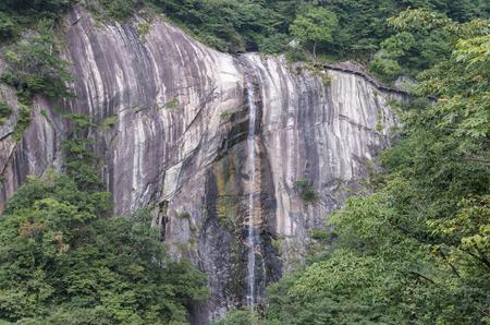 hubei province: Waterfall at Hubei Province Stock Photo