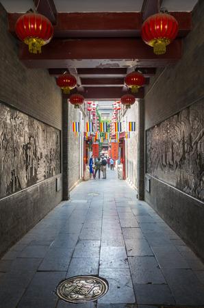 culture: Tianjin ancient culture street Editorial