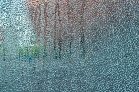 Broken glass wall Reklamní fotografie