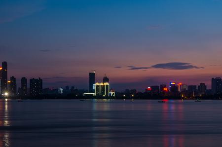 The Yangtze River in night