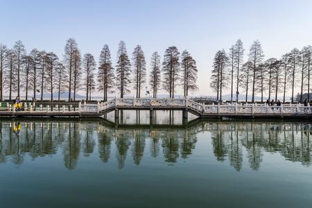 East Lake scenic spot in Wuhan 新闻类图片