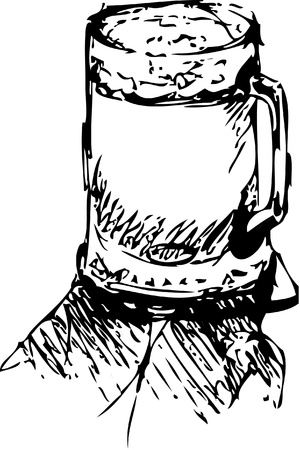 illustration of Sketchy Beer
