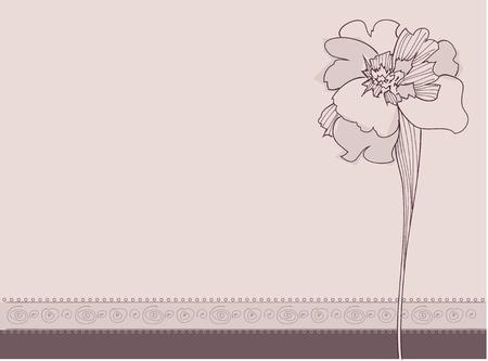 Illustration of Ornament Flowers Stock Vector - 10972064