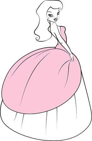 Illustration of Fairy girl
