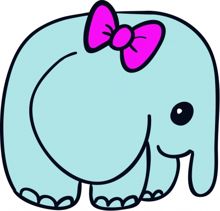 Illustration of Elephant Illustration
