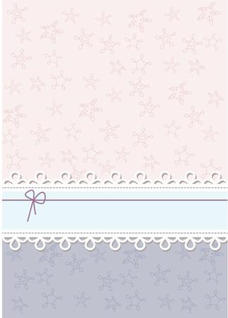 Vector invitation card Illustration