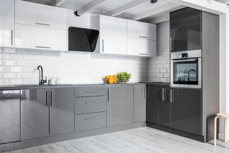 Stunning Cucina Grigia E Bianca Gallery - Idee Pratiche e di Design ...