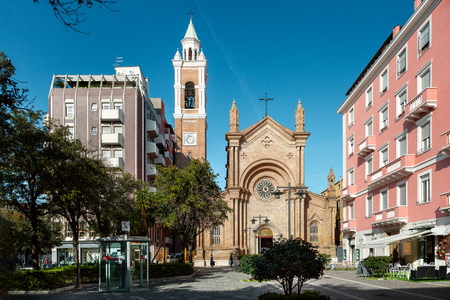 Church Of The Sacred Heart of Jesus in Pescara city, Abruzzo region, Italy