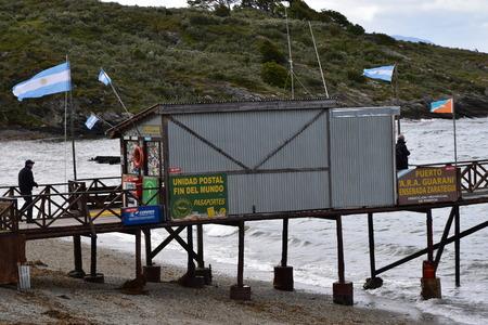 tierra del fuego: South Americas most southern post office, Tierra del Fuego