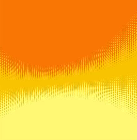 Orange  abstract modern background. Vector. Illustration