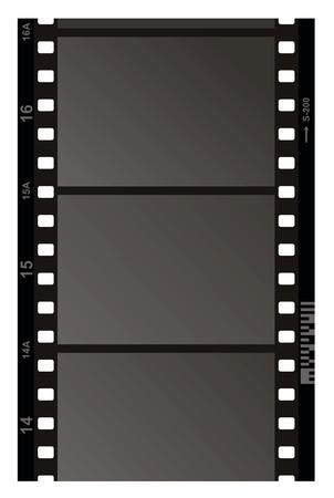 Film Strip Pattern on white background. Vector.