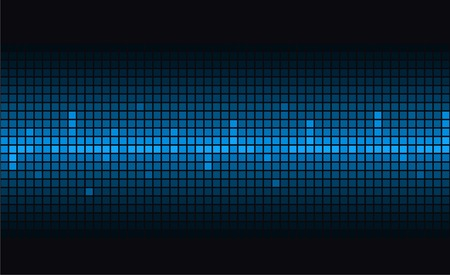 taking pulse: Blue abstract modern background. Vector.
