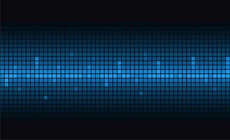 heart tone: Fondo azul moderno abstracto. Vector.