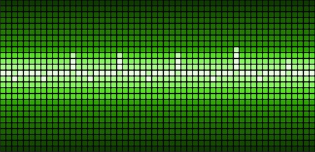 taking pulse: Green abstract modern background. Vector. Illustration
