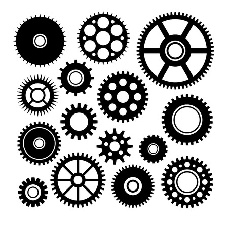 Vector set of some gears