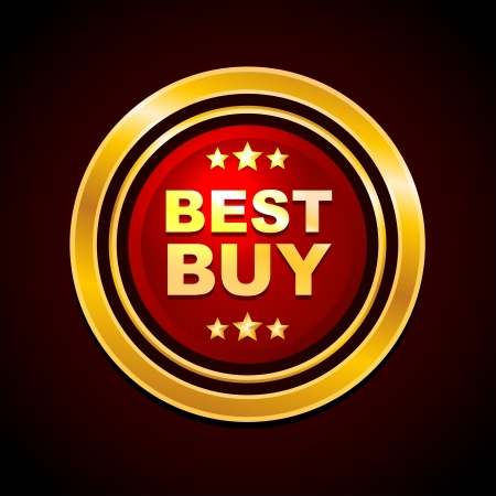 Gold Label Best Buy  Vector