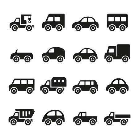 Cars icon set photo