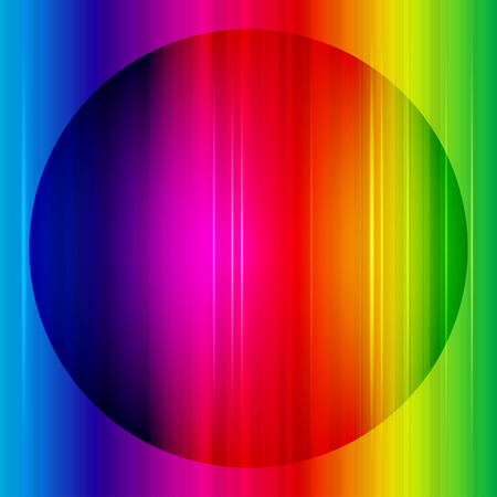 Rainbow abstract background. Vector. photo