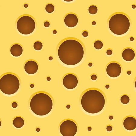 swiss cheese: Seamless Yellow Cheese Pattern, Texture.