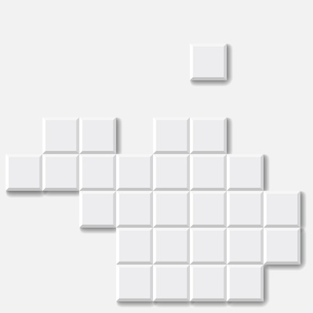 brick background: Abstract White Brick Vector Background  Illustration Illustration