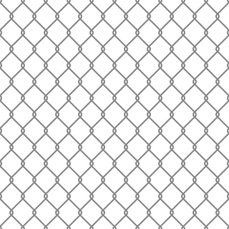 chainlink fence: Steel Wire Mesh Seamless Background illustration