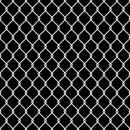 Steel Wire Mesh Seamless Background illustration