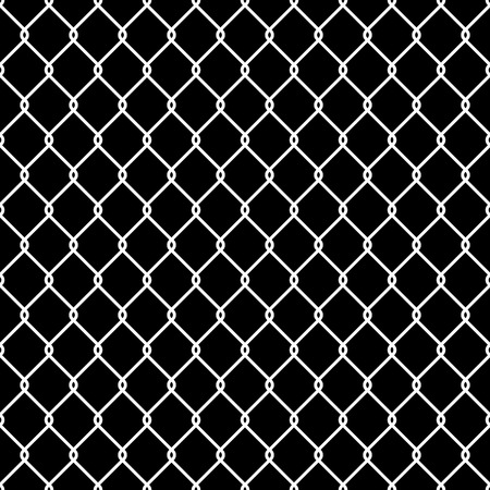 Steel Wire Mesh Seamless Background illustration Vector