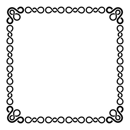 Calligraphic Frame and Page Decoration   Vector