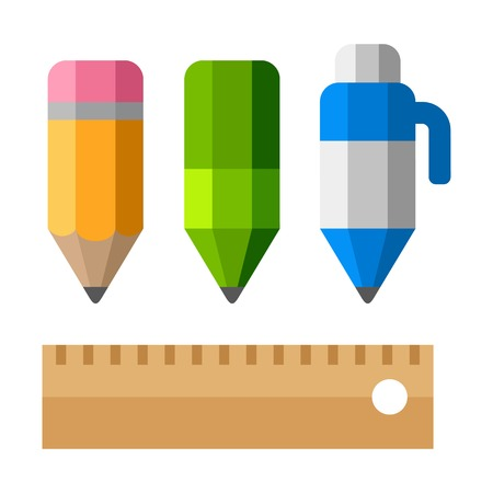 drafting: Drafting tools on white background.