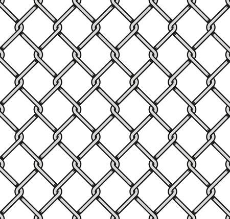 tel kafes: Çelik Hasır Dikişsiz Arkaplan. Vector illustration