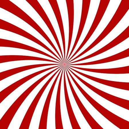 out of body: Red Hypnosis Spiral Pattern. Optical illusion. Vector illustration Illustration