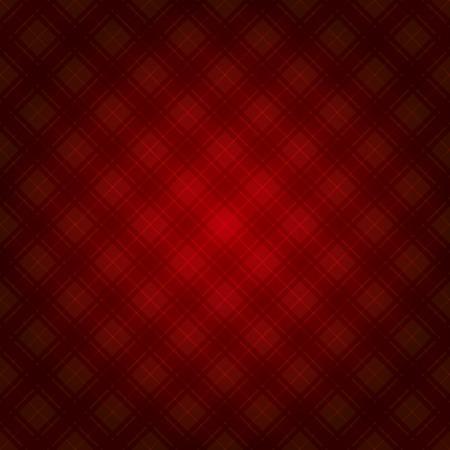 Red Retro Fabric Tartan Background