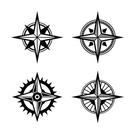 orienting: Compass Icons Set