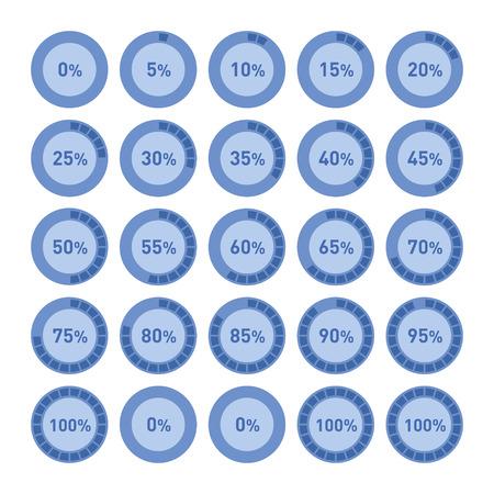 graficas de pastel: C�rculo Diagrama Pie Charts Infograf�a elementos. Vector