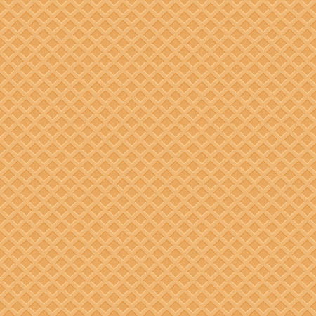 Wafer Icecream Seamless Pattern. Vector Sweet Illustration
