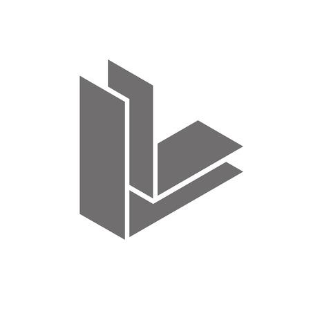 Letter L Logo Concept Icon. Vector illustration