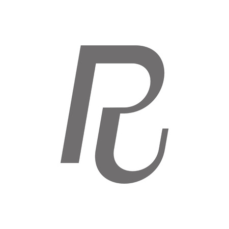 R: Letter R Concept Icon. Vector illustration Illustration