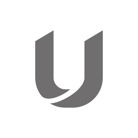 letter u: Letter U Logo Concept Icon