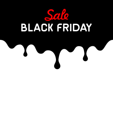 Black Friday Sale Background Design Element.  Vettoriali