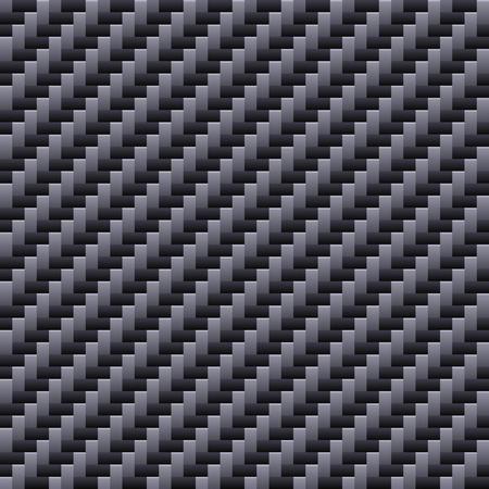 fibers: Carbon Seamless Fiber Background. Vector illustration EPS10