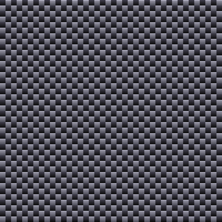 woven: Carbon Seamless Fiber Background. Vector illustration EPS10