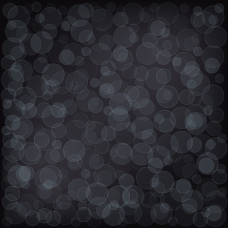 blur: Bokeh Dark Abstract Blur Background. Vector illustration